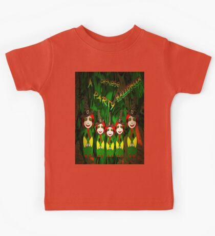 A Chinese Halloween Party Kids Tee