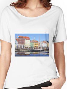 Nyhavn - Copenhagen, Denmark Women's Relaxed Fit T-Shirt