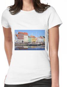 Nyhavn - Copenhagen, Denmark Womens Fitted T-Shirt