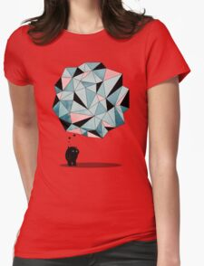 The Pondering  Womens Fitted T-Shirt