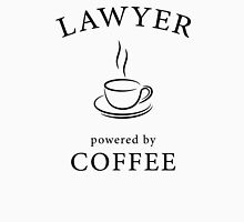 Lawyer, powered by coffee Unisex T-Shirt