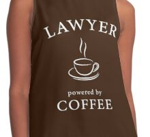 Lawyer, powered by coffee Contrast Tank