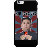 Kim Jong UNO iPhone Case/Skin
