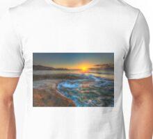 Sunrise at Llop Mari north Unisex T-Shirt