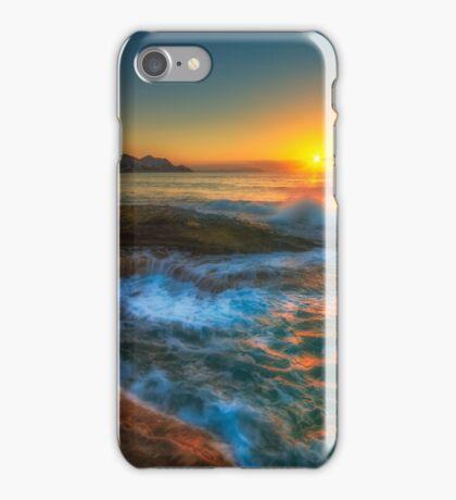 Sunrise at Llop Mari north iPhone Case/Skin