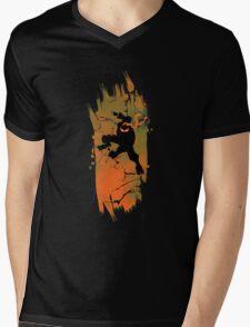 TEENAGE MUTANT NINJA TURTLE MICHELANGELO Mens V-Neck T-Shirt