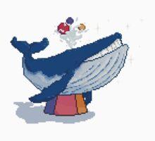 Pixel Circus Whale Kids Tee