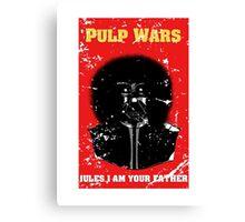 Pulp Wars Canvas Print