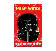 Pulp Wars Photographic Print