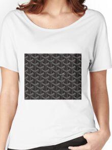 Goyard case black Women's Relaxed Fit T-Shirt