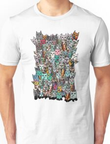Find Me, I am the Cat. Unisex T-Shirt