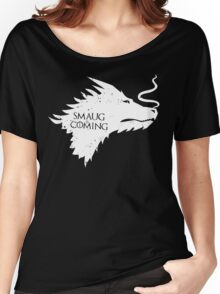 The Desolation Of Smaug - Smaug is Coming Women's Relaxed Fit T-Shirt