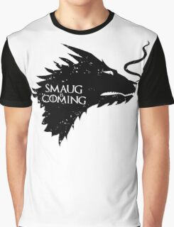 The Desolation Of Smaug - Smaug is Coming Graphic T-Shirt