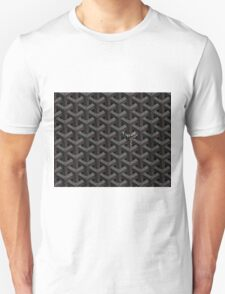 Goyard case black Unisex T-Shirt