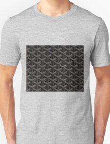 Goyard case black Unisex T-Shirt