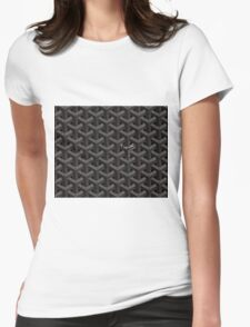 Goyard case black Womens Fitted T-Shirt