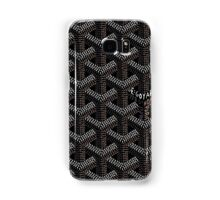 Goyard case black Samsung Galaxy Case/Skin