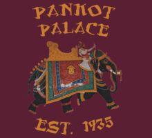 Pankot Palace / Indiana Jones T-Shirt by Jimardee