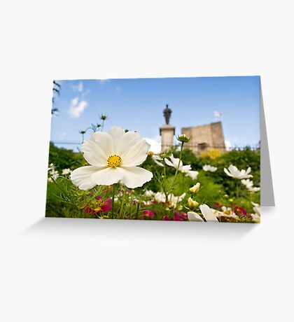 Castle Garden Greeting Card