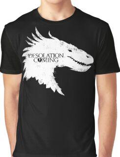 The Desolation Of Smaug - Smaug is Coming Graphic T-Shirt
