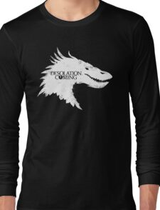 The Desolation Of Smaug - Smaug is Coming Long Sleeve T-Shirt