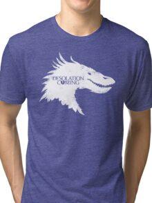 The Desolation Of Smaug - Smaug is Coming Tri-blend T-Shirt