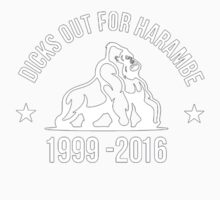 dicks out for harambe Kids Tee