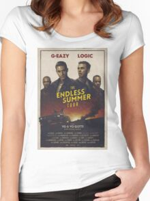 THE ENDLESS SUMER TOUR 2016 Women's Fitted Scoop T-Shirt