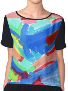WHAT COLOR OF SKY DID YOU LIKE WHEN YOU WERE KIDS? by Lenna Chiffon Top
