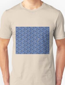 Goyard case blue Unisex T-Shirt
