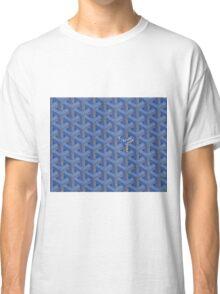 Goyard case blue Classic T-Shirt