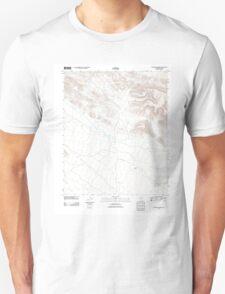USGS TOPO Map Arizona AZ Cementosa Wash 20111025 TM Unisex T-Shirt