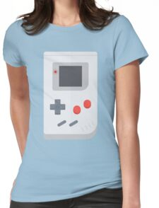Retro Gameboy style graphic Womens Fitted T-Shirt