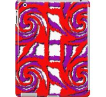 Swirl Pattern in Layers iPad Case/Skin