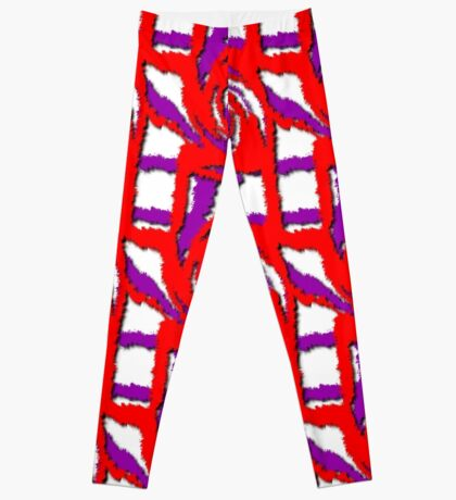 Swirl Pattern in Layers Leggings