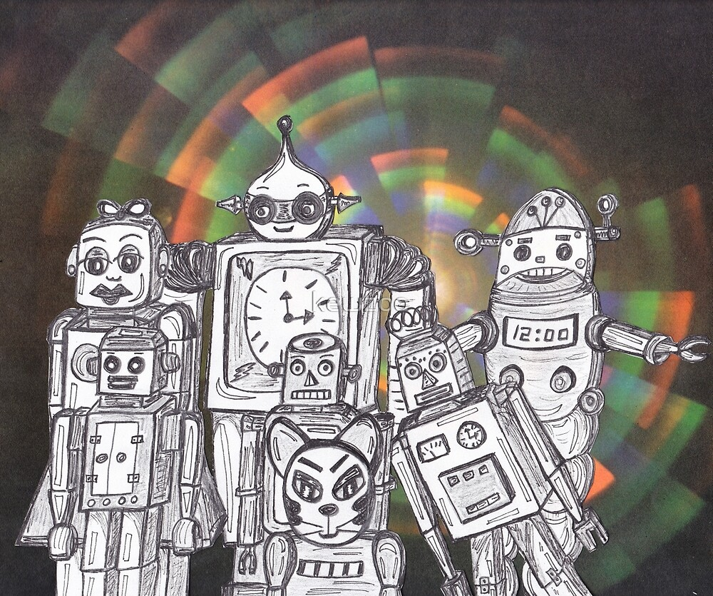 Robot Holiday 12 by kewzoo