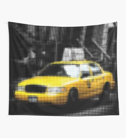 "Pixels Print ""NYC TAXI"" Wall Tapestry"
