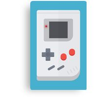 Retro Gameboy style graphic Canvas Print