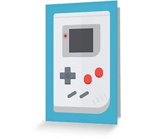 Retro Gameboy style graphic Greeting Card