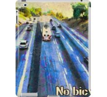 No bicycles iPad Case/Skin
