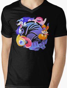 Monsters Rule Mens V-Neck T-Shirt