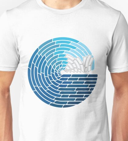 Sydney Opera House - Wave Crash Unisex T-Shirt