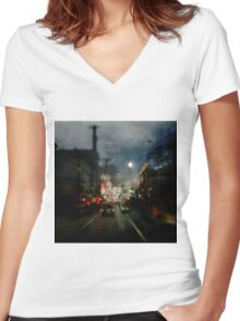 In Limbo Women's Fitted V-Neck T-Shirt