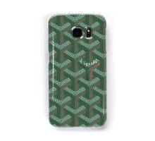 Goyard case green Samsung Galaxy Case/Skin