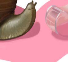 Snail Love is Blind Sticker