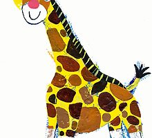 Little Giraffe by Ollie Lett