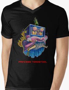Princess Toadstool - Super Mario bros 2 Nintendo Mens V-Neck T-Shirt