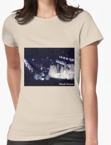 magic fountain Womens Fitted T-Shirt