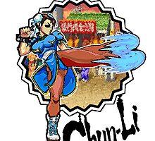 Chun Li Kick by JoelCortez