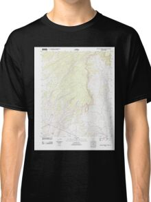 USGS TOPO Map Arizona AZ Big Willow Spring Canyon 20111028 TM Classic T-Shirt